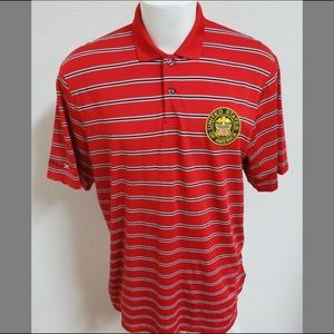 XL Striped RLX Ralph Lauren Golf USA Men #05X Polo